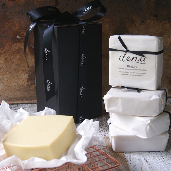 Handmade Olive Oil Soaps for Christmas x 5