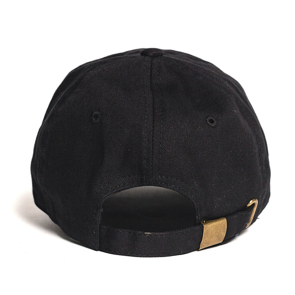 OG LOGO 6 PANEL HAT - BLACK