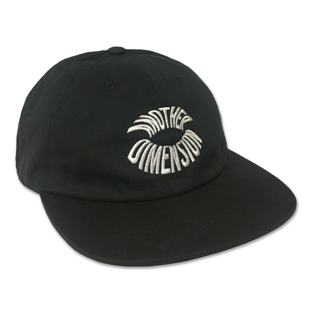 ANOTHER DIMENSION FLAT BRIM 6 PANEL - BLACK