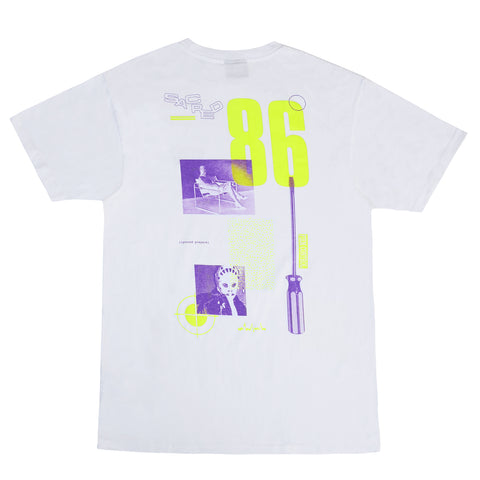 FACEOFF T-SHIRT - WHITE