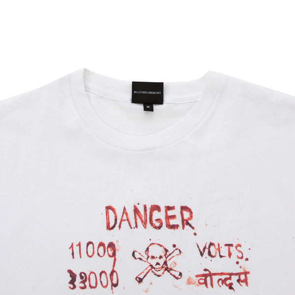 "JULIA FOX x I.P. ""DANGER"" T-SHIRT"