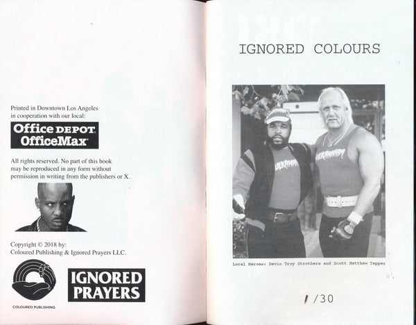 IGNORED COLOURS Vol. 1 - IP x Devin Strothers
