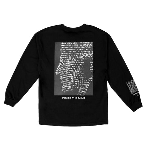 INSIDE THE MIND L/S T-SHIRT - BLACK