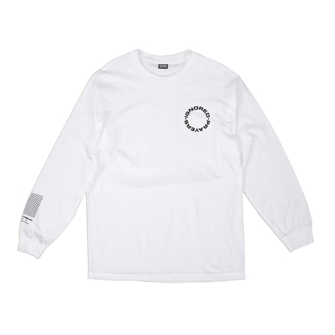INSIDE THE MIND L/S T-SHIRT - WHITE