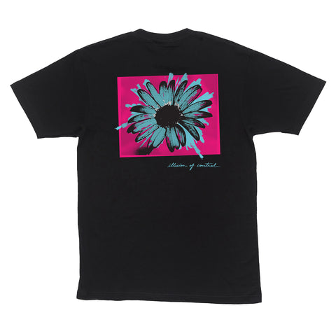 IN BLOOM T-SHIRT - BLACK