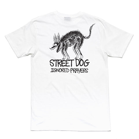 "IP X JAY HOWELL ""STREET DOG"" TEE - WHITE"