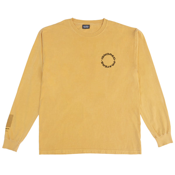 INSIDE THE MIND L/S T-SHIRT - MUSTARD
