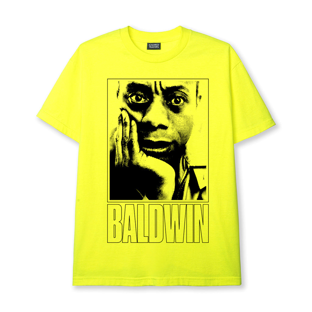 REVERSIBLE JB TEE - NEON YELLOW
