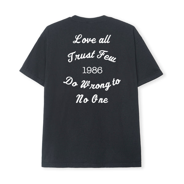 LOVE ALL TEE - BLACK