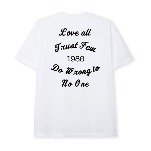 LOVE ALL TEE - WHITE