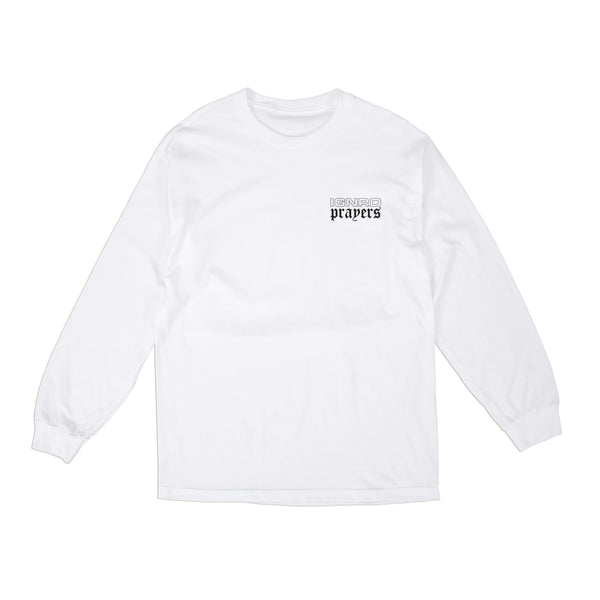 LUCY L/S T-SHIRT - WHITE