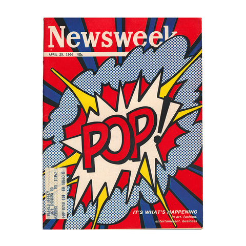 NEWSWEEK MAGAZINE - POP ART ISSUE - ROY LICHTENSTEIN