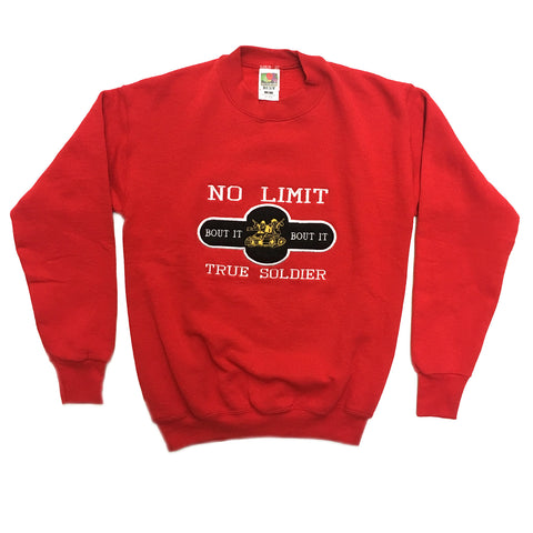 VINTAGE BOOTLEG NO LIMIT RECORDS SWEATSHIRT