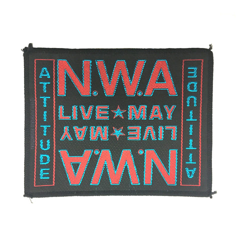 VINTAGE N.W.A. WOVEN PATCH