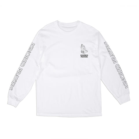 OG HANDS LONG SLEEVE T-SHIRT - WHITE