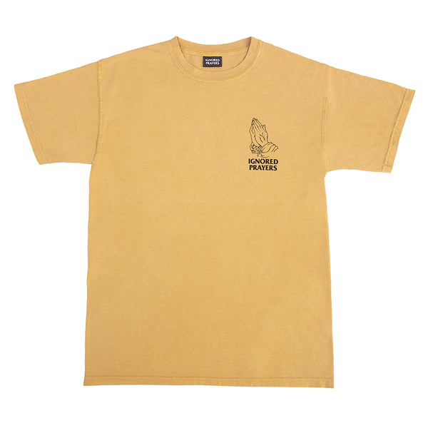 OG HANDS PIGMENT DYED TEE - MUSTARD