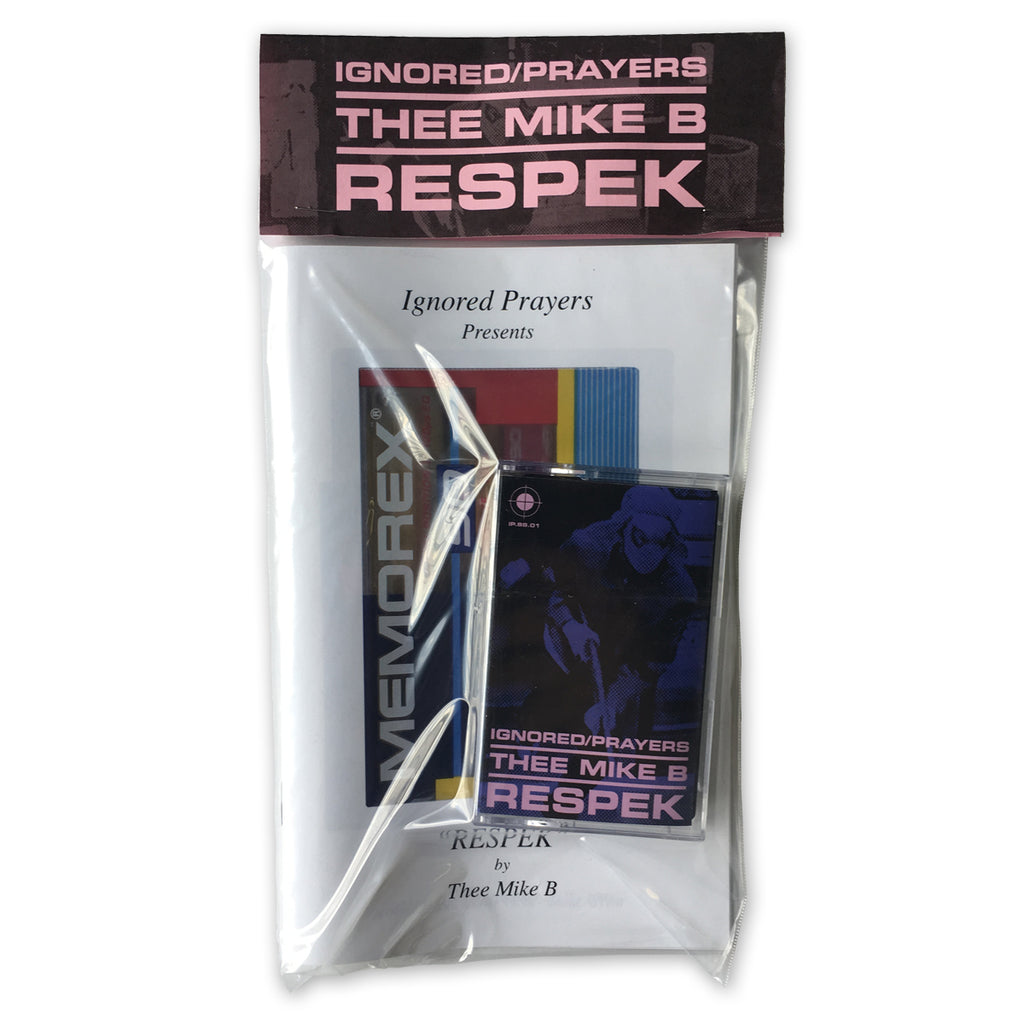 """RESPEK"" - MIXTAPE/ZINE PACK - THEE MIKE B"