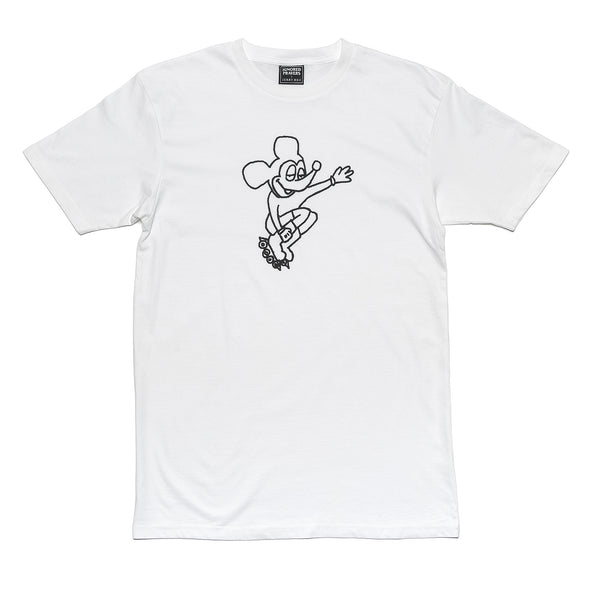 IP X HSU - RAD RAT T-SHIRT - WHITE