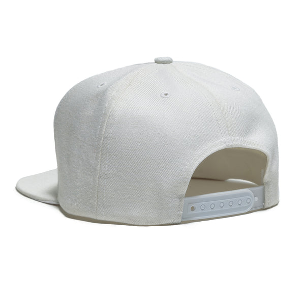 OG LOGO SNAP BACK HAT - WHITE