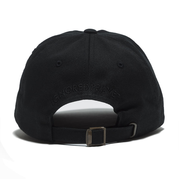 NIGHTMARE 6 PANEL HAT - BLACK