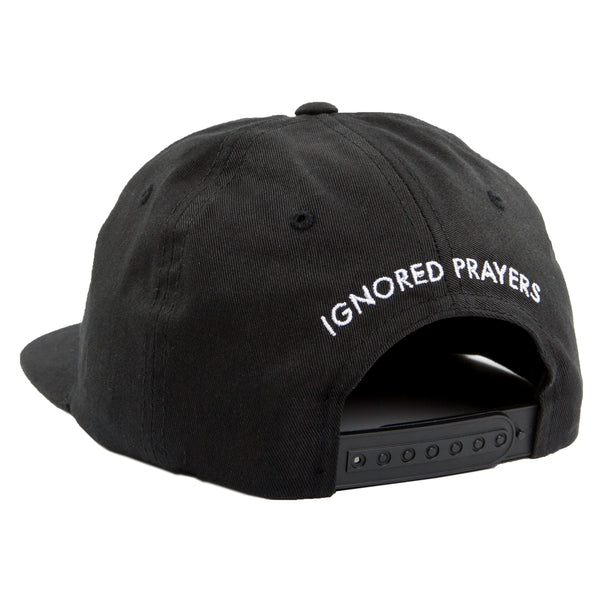 SLAUSON 5 PANEL SNAP BACK - BLACK