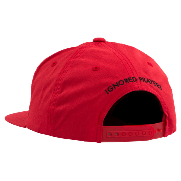 SLAUSON 5 PANEL SNAP BACK - RED