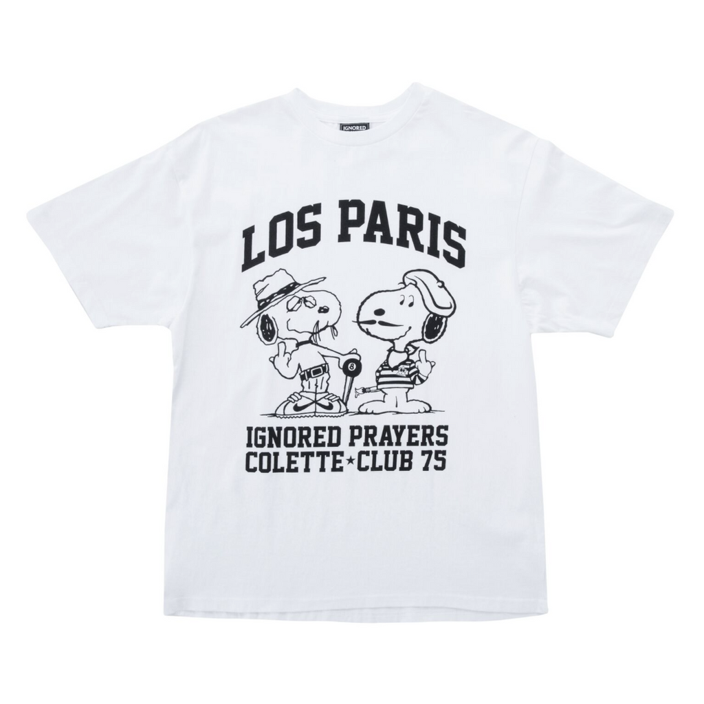 LOS PARIS TEE - COLETTE & CLUB 75 - WHITE