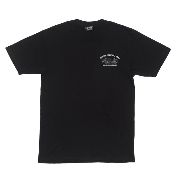 TRASH T-SHIRT - BLACK