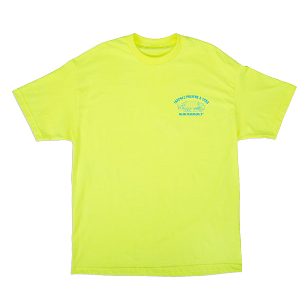 TRASH T-SHIRT - SAFETY YELLOW
