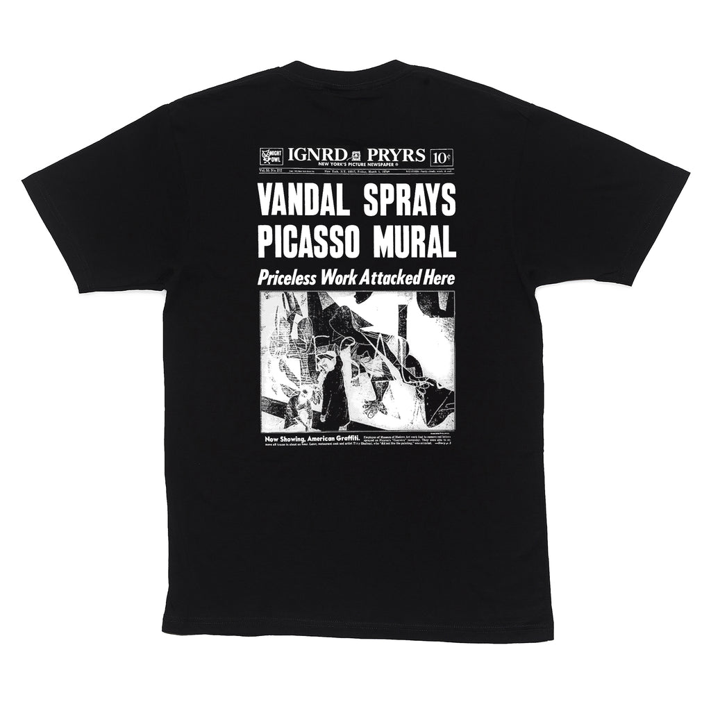 VANDAL T-SHIRT - BLACK