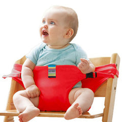Brand Portable Baby Dinning Chair Children High Chairs Seat Belts Safety Belt Folding Dining Feeding Kid Dining Belt Portable