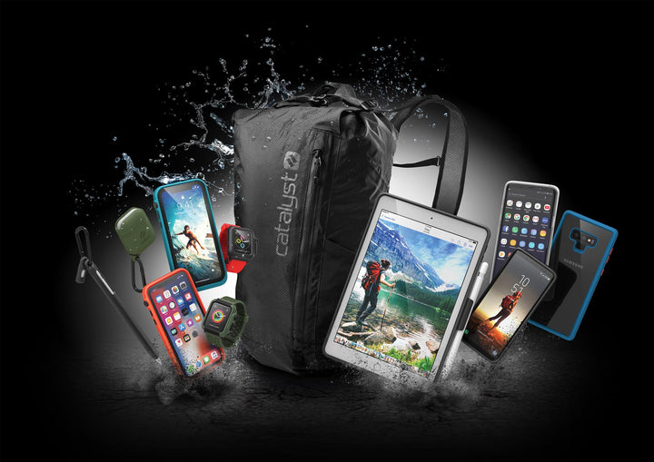 CATALYST INTRODUCES VERSATILE WATERPROOF BACKPACK AND IMPACT PROTECTION CASES FOR GALAXY NOTE 9 AND NEW 9.7-INCH IPAD
