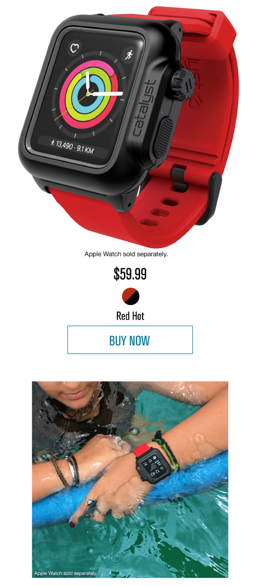 more photos ca228 6bb09 Catalyst Case - New colors for Apple Watch 42mm and 38mm Series 2 ...