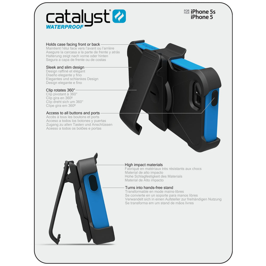 Belt Clip for CatalystiPhone 5/5s, iPhone SE case