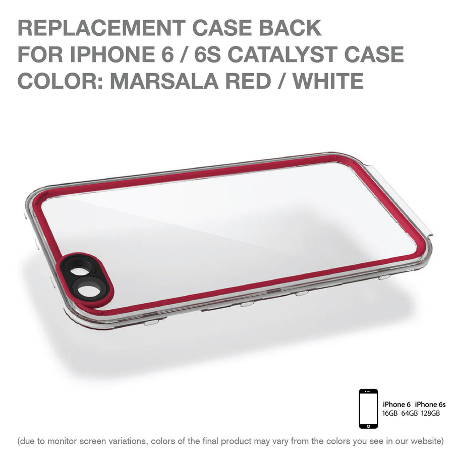 CATBACMAR6 | Replacement Case Back for Catalyst Case for iPhone 6/6s