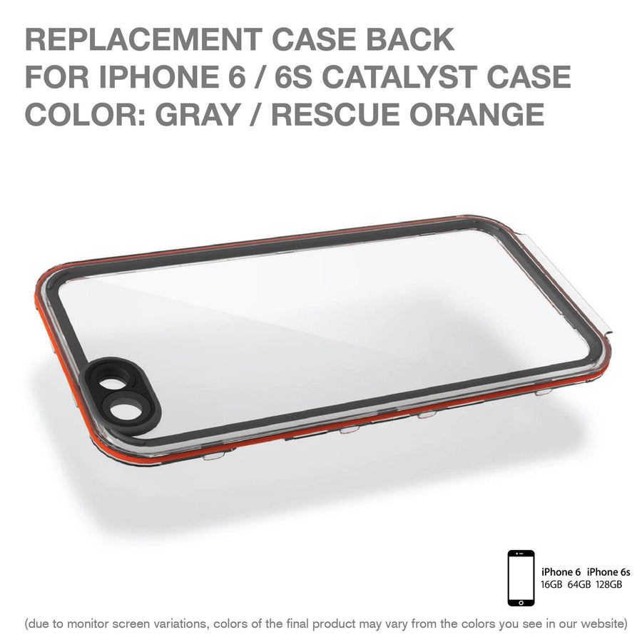 CATBACRES6 | Replacement Case Back for Catalyst Case for iPhone 6/6s