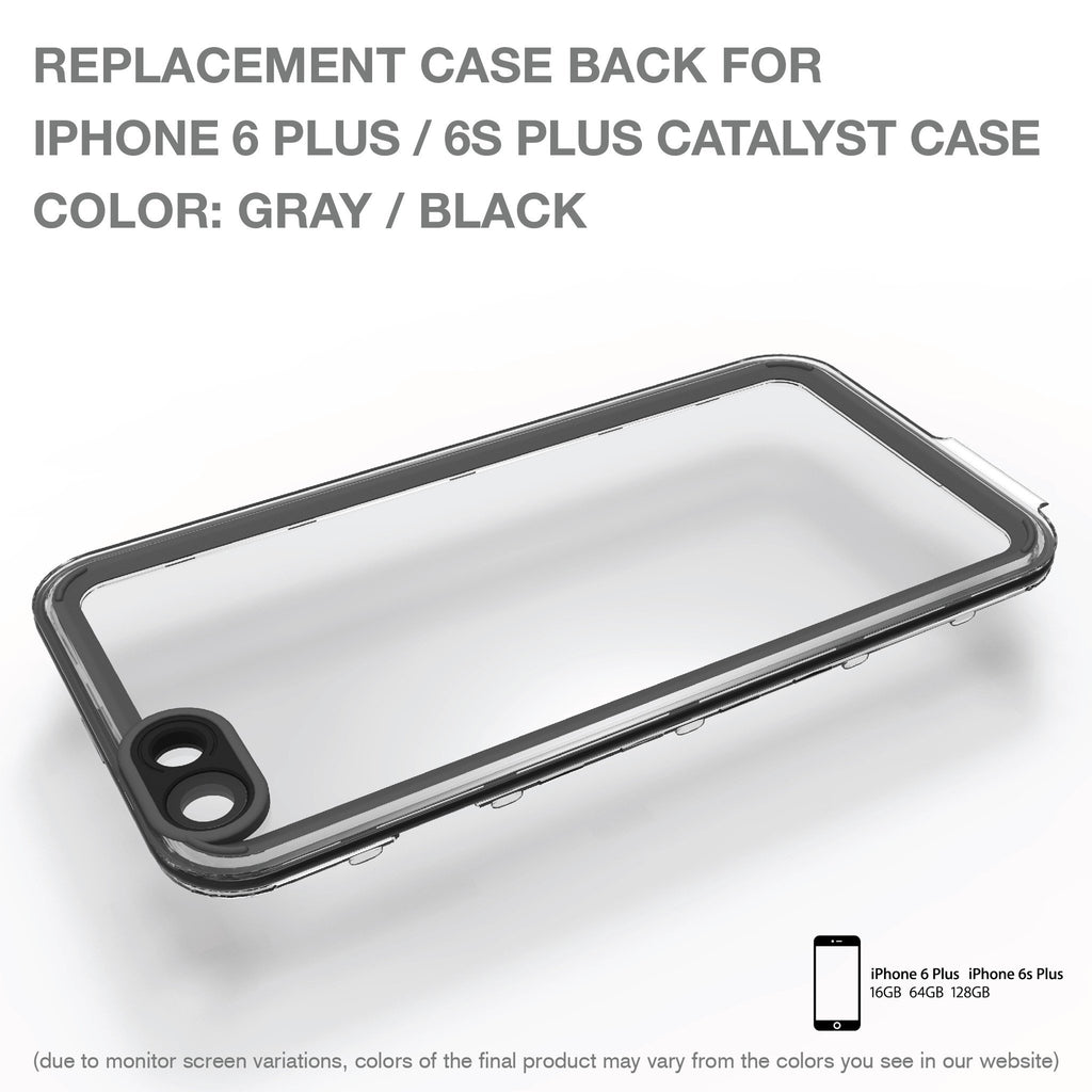 Replacement Case Back for Catalyst Case for iPhone 6 Plus/ 6s Plus
