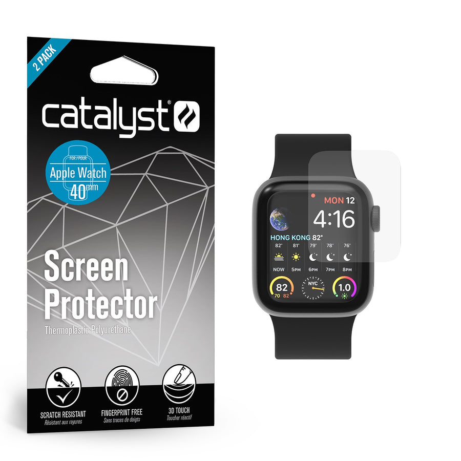 CATTPU40WAT4 | Screen Protector for 40mm Apple Watch - 2 Pack