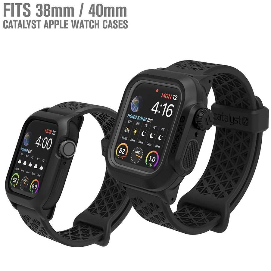 CAT22SBBLK | Sport Band for 38/40mm Catalyst Apple Watch Cases