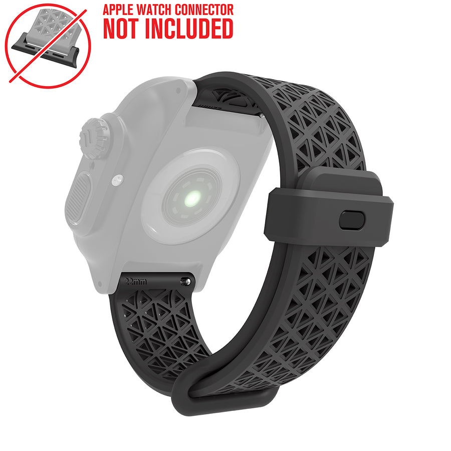 CAT22SBGRY | Sport Band for 38/40mm Catalyst Apple Watch Cases