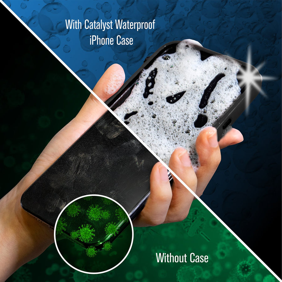 CATFROBLKX | Replacement Case Front for Catalyst Waterproof Case for iPhone X