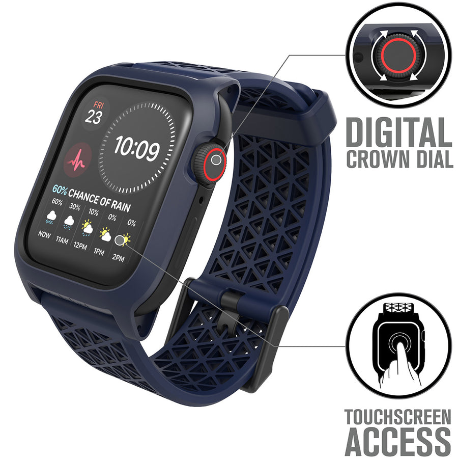CAT44DROP5NAV | Impact Protection Case for Apple Watch Series 5 & 4 - 44mm