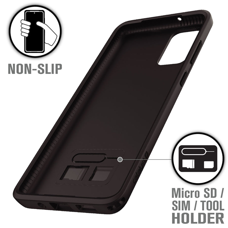CATDRPGS20+BLK | Impact Protection Case for Samsung Galaxy S20+