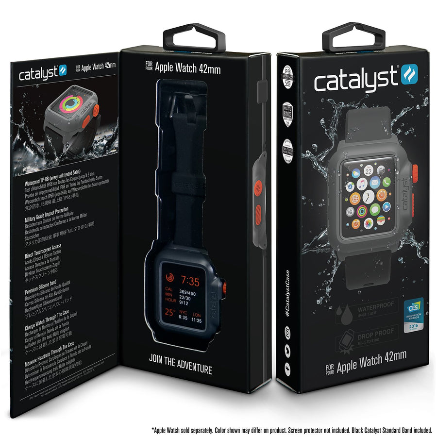 CATIWATRES2 | Waterproof Case for 42mm Apple Watch Series 1