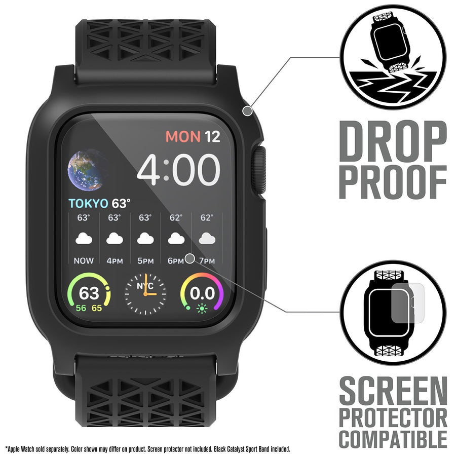 CAT40DROP4BLKV2 | Impact Protection Case for 40mm Apple Watch Series 4 & 5