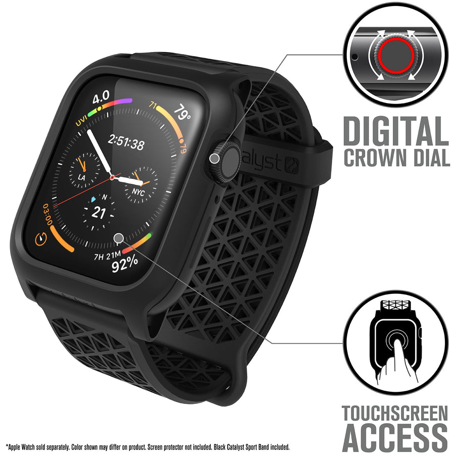 CAT44DROP4BLKV2 | Impact Protection Case for 44mm Apple Watch Series 4 & 5