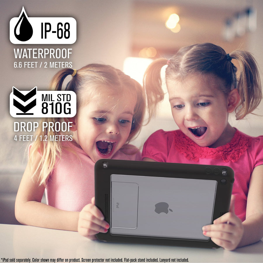 CATIPD5THBLK | WATERPROOF CASE FOR IPAD 9.7-INCH - 5TH & 6TH GEN (2017/2018)