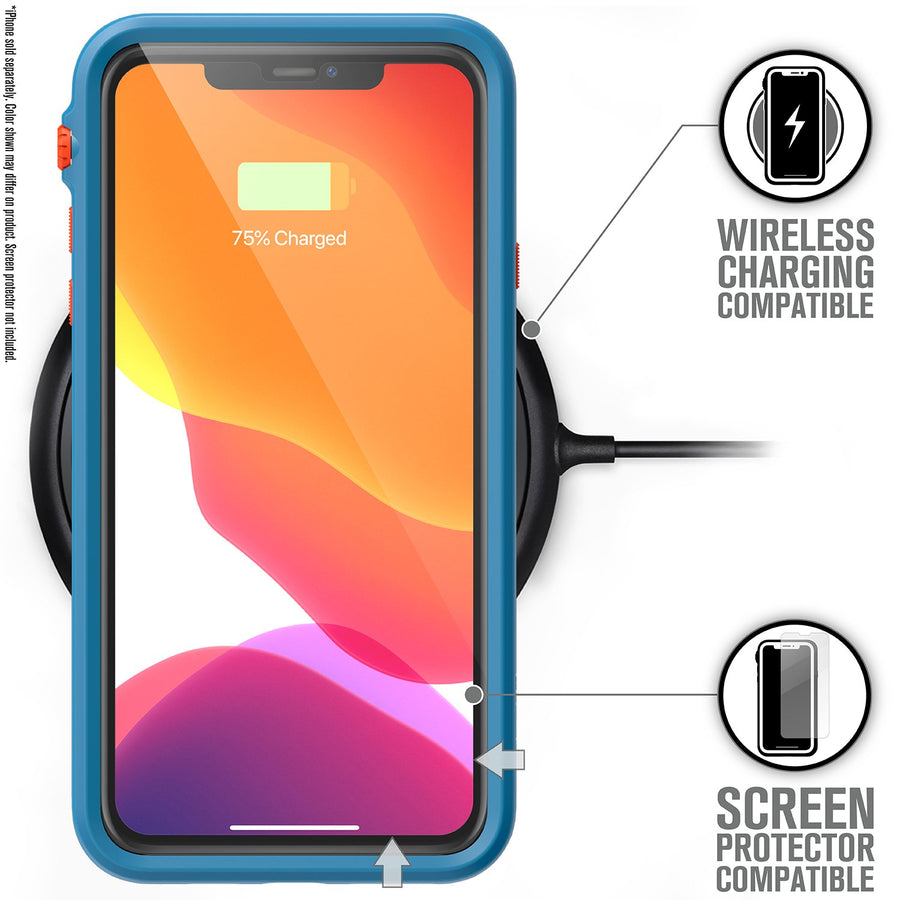 CATDRPH11TBFCL | Impact Protection Case for iPhone 11 Pro Max | Blue