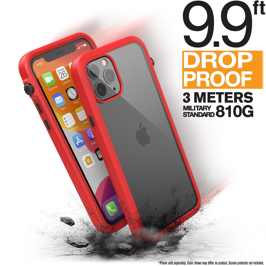 CATDRPH11REDS | Impact Protection Case for iPhone 11 Pro | Red