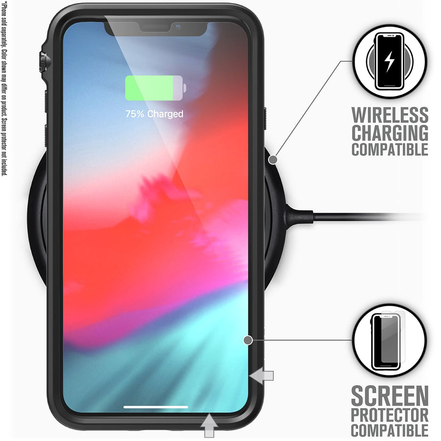 CATDRPHXBLKL-FBA | Impact Protection Case for iPhone Xs Max